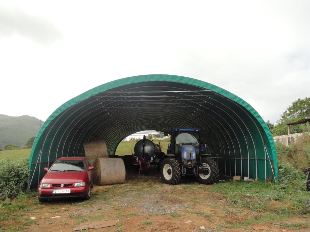 Cobertizos ganaderos de cosma ligeros y resistentes for Precios de cobertizos